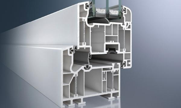 Profilo PVC altamente isolante Schuco Alu Inside