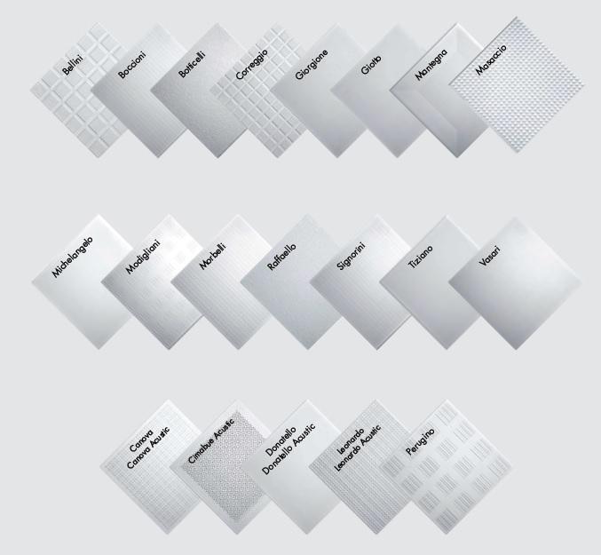 Tipologie di pannelli in gesso alleggeriti per controsoffitto di Knauf