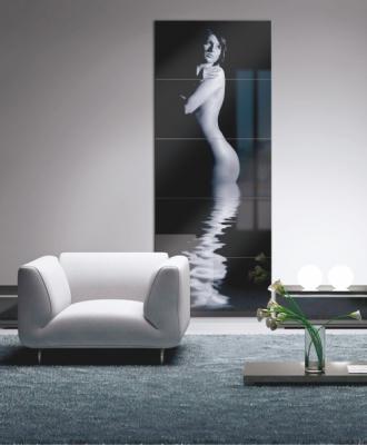 Quadro personalizzabile in pannello di cristallo, di Venezia Arte.