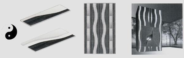 WAVES Idea progetto dell'Arch. Diana Tomasich