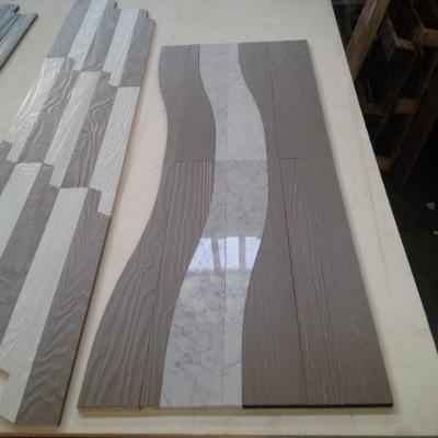 WAVES legno-marmo ideeparquet