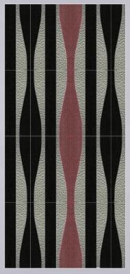 WAVES combinazione legni diversi e pelle