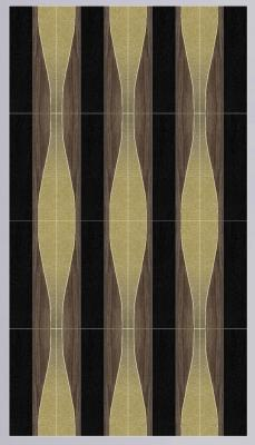 WAVES combinazione diversa legni-pelle