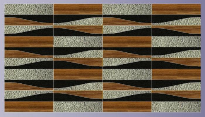 WAVES legni diversi e pelle