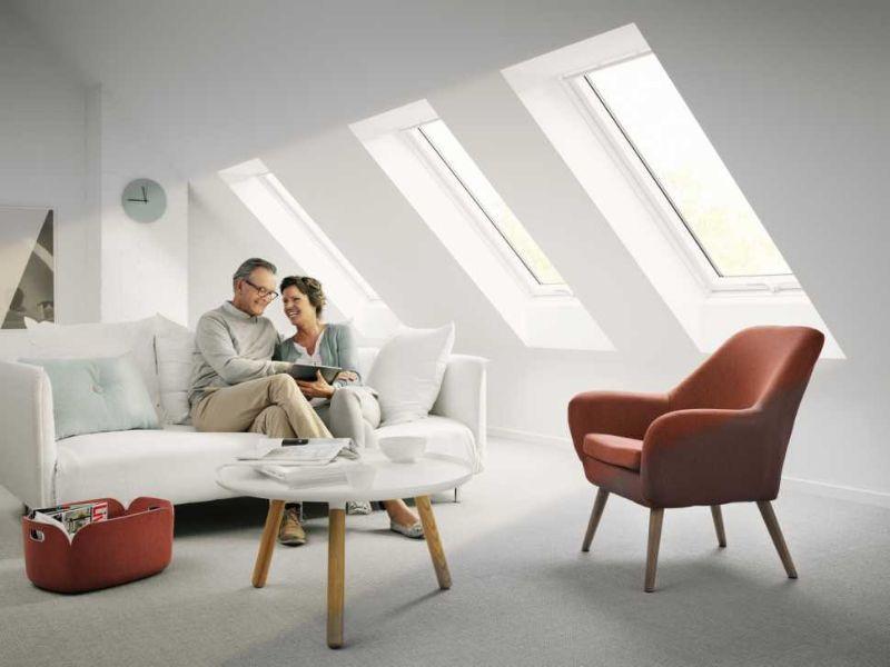 Abitabilità mansarda, maggiore luce con le finestre Velux