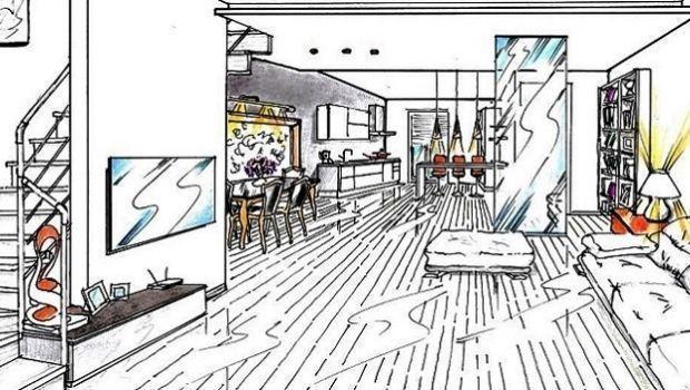 Cucina e soggiorno insieme un progetto dinamico - Cucina e salone insieme ...