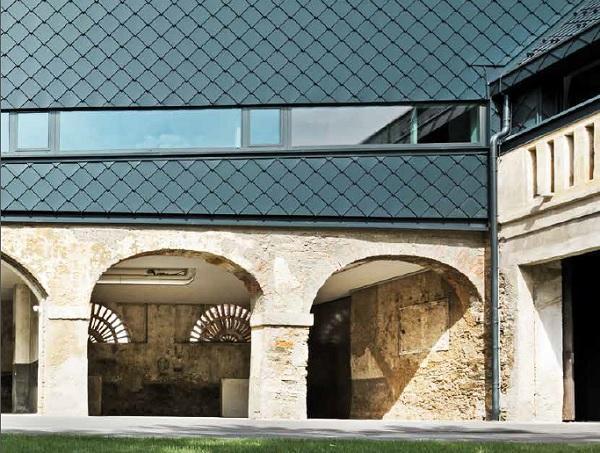 Rivestimenti per facciata in scandole di alluminio di PREFA