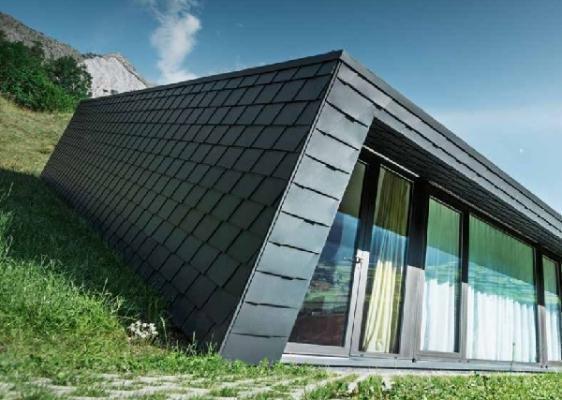 Rivestimenti facciata scandole in alluminio di PREFA