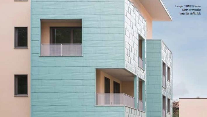 Colori Per Rivestimenti Esterni : Rivestimenti metallici per facciate