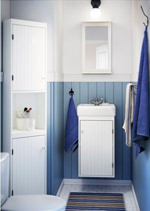 Mobile lavabo SILVERÅN / HAMNVIKEN  di Ikea