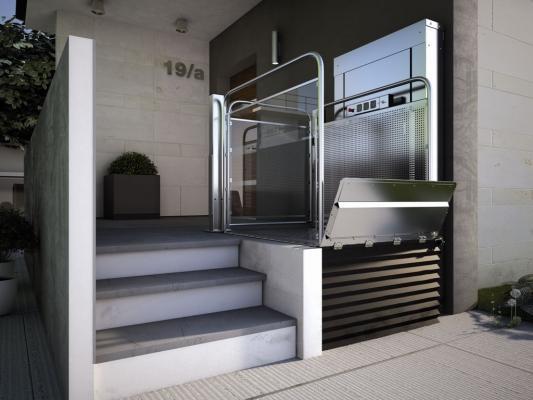 Piattaforma elevatrice da interno modello S10 di Vimec