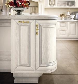 Zoccolature cucina: Lube, Pantheon zoccolo legno sagomato