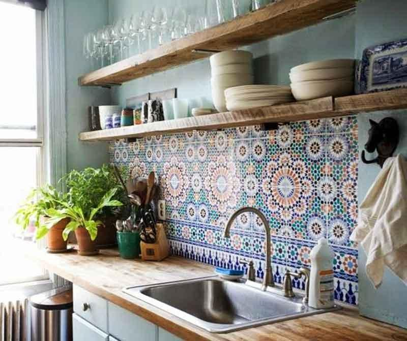 Foto - Fascia di tamponamento cucina