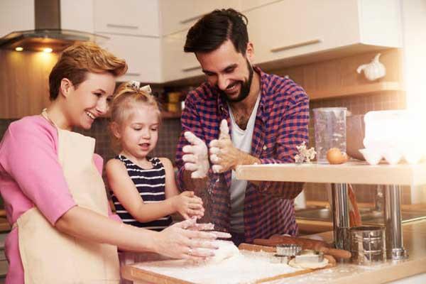 La cucina è oggigiorno il fulcro della casa