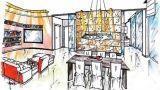 Parete divisoria salone: soluzione progettuale