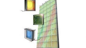 Mattoni fotovoltaici-per facciate