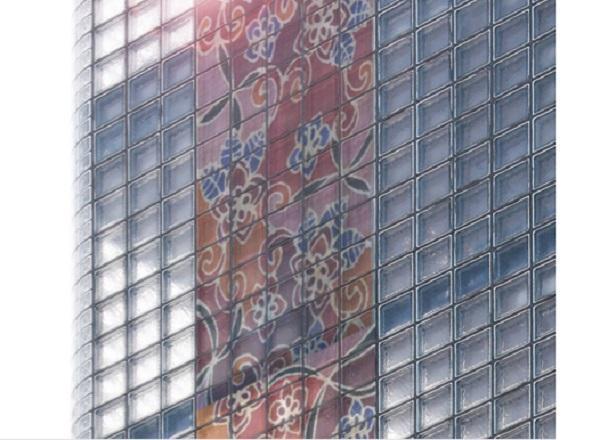 Facciata in mattoni in vetro fotovoltaico di SBskin