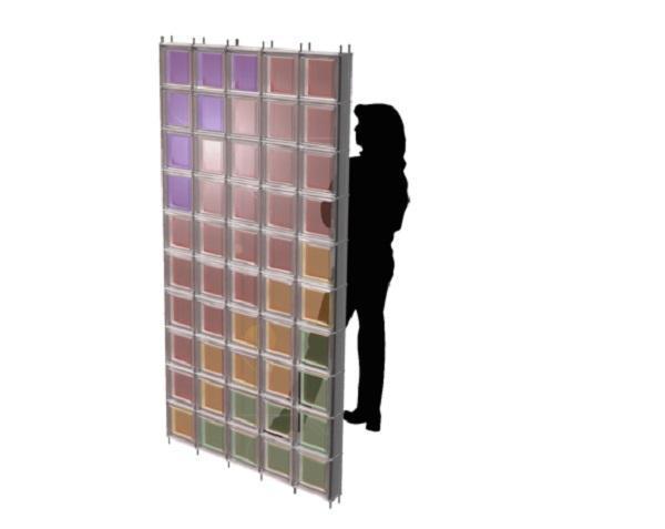 Pannello in vetro mattone fotovoltaico di SBskin