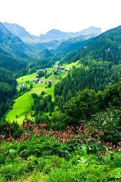 Paesaggio provincia di Bolzano