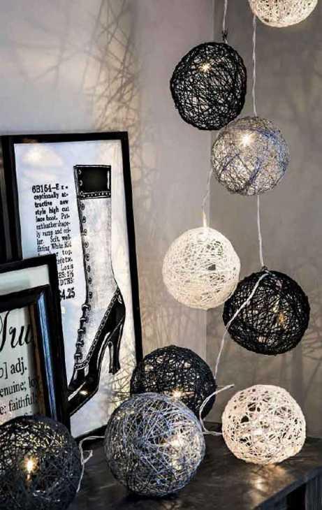 Utilizzare  lampade in modo creativo - Immagine by riciclocreativo.com