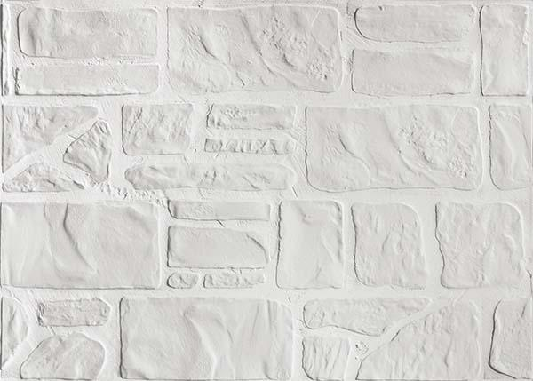 mattone da rivestimento Pietre di Fiume Bianco, di Ceramica Rondine