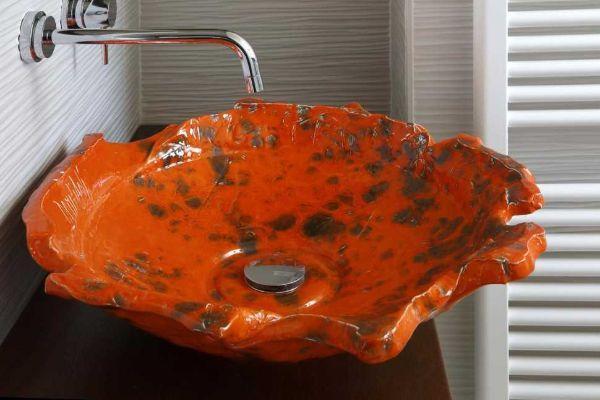 Lavabo da appoggio per bagno Stop Collection di Domiziani