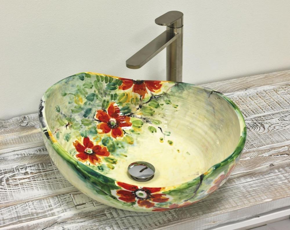 Lavandini Da Bagno Da Appoggio : Lavabo da appoggio per il bagno