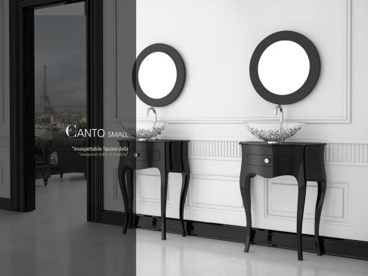 Lavabo Canto Small di Glass Design