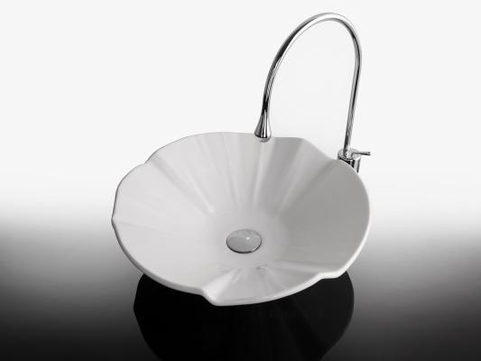 Lavabo da appoggio per il bagno