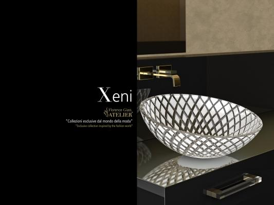 Lavabo Xeni di Glass Design