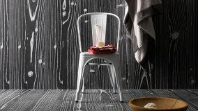 Soluzioni originali e colorate di rivestimenti effetto legno