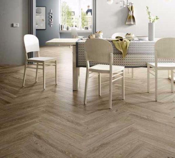 Pavimenti effetto legno naturale tipo di posa di Marazzi