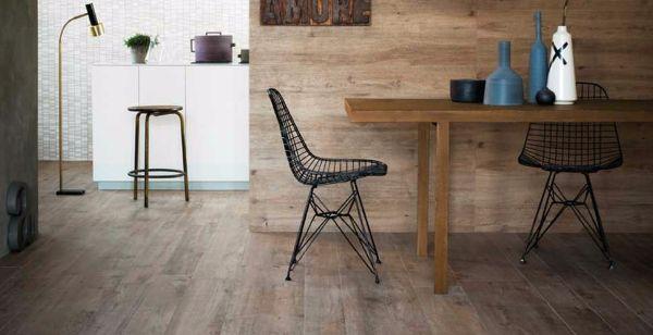 Posa pavimenti effetto legno naturale di Marazzi
