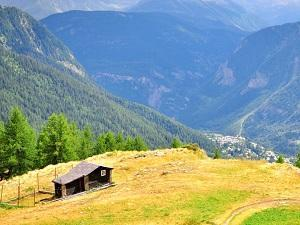 Casa e montagne in Valle d'Aosta
