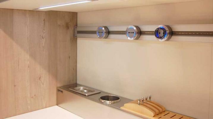 Impianto elettrico cucina for Scatole elettriche esterne