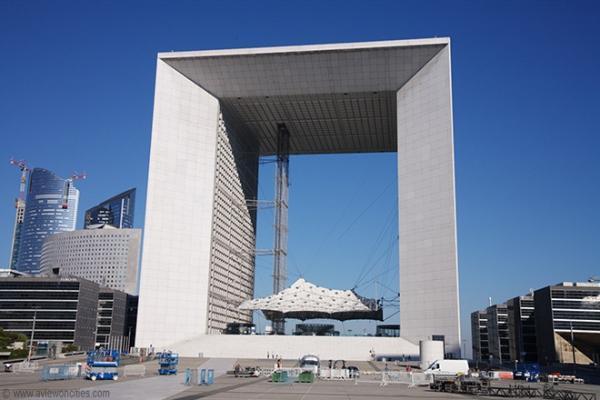 Grande Arche de la Défence Parigi