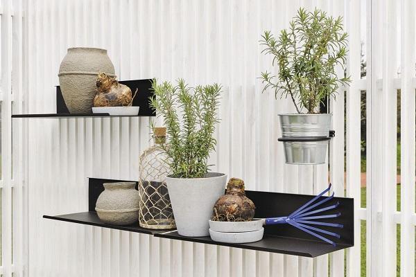 Recinzione decorativa Fence di Unopiù con accessori