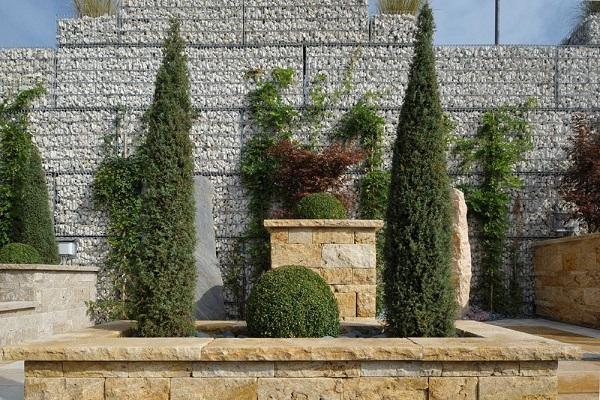 Gabbione ornamentale Stonebox di Stone City