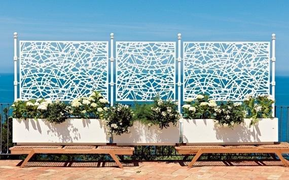Foto recinzioni decorative per il giardino - Recinzione giardino privacy ...