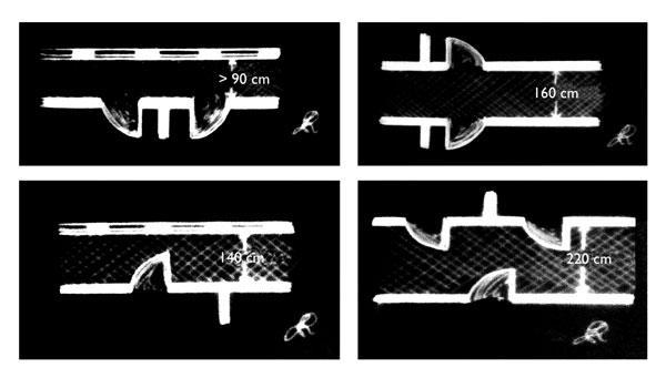 Dimensionare la larghezza del corridoio