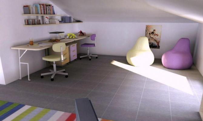 Cucine Per Mansarde. Interior Design Mansarda With Cucine Per ...