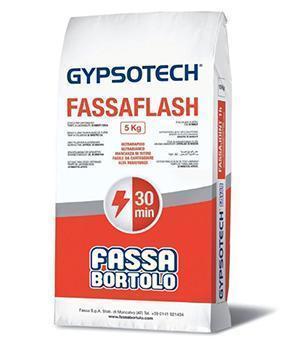 Stucco per cartongesso Fassaflash della Fassa Bortolo.