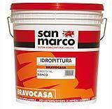 Tinteggiare il cartongesso: idropittura universale BravoCasa del Colorificio San Marco.