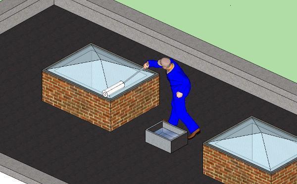 Trattamento impermeabilizzante vetro fessurato