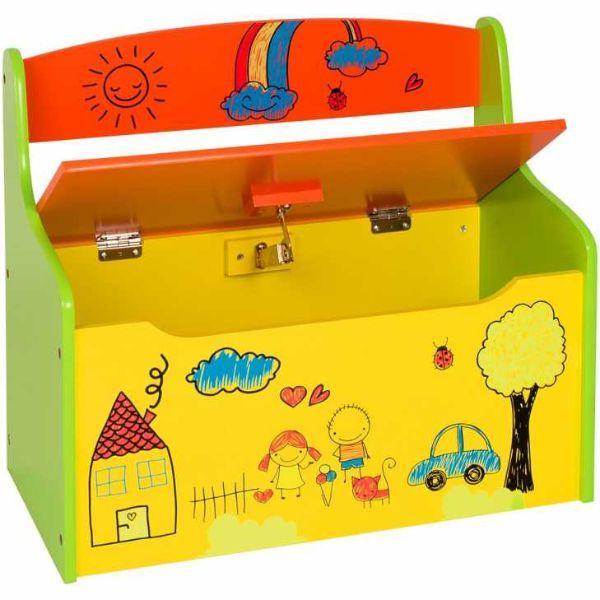 Panca contenitore for Cassapanca x bambini