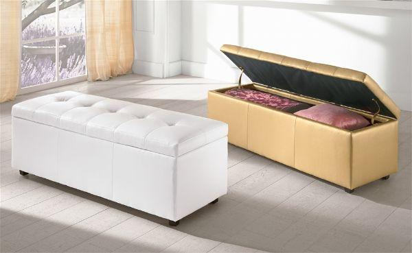 Panca contenitore for Panca letto