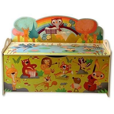 Panca porta giocattoli su Amazon