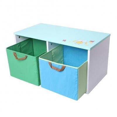 Panca contenitore con casettoni su Amazon