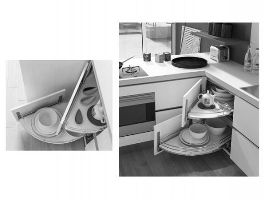 Arredare una cucina: Dibiesse, Rolling Corner