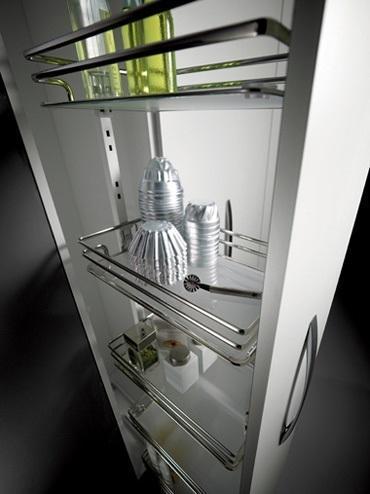 Foto arredare una cucina - Cestelli estraibili per cucina ikea ...